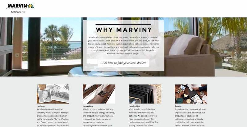 Why Marvin Website